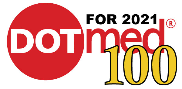 DOTmed 100 for 2021 - NorthWest Supply