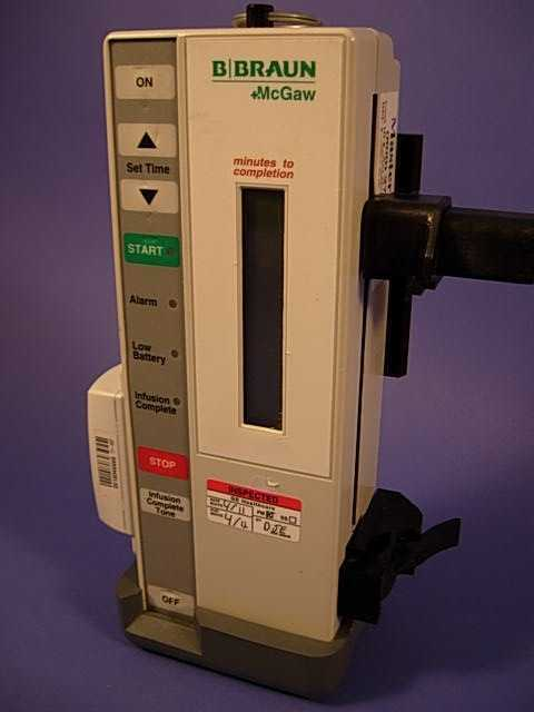 B Braum 360infuser Infusion Pump: Date of Mfr